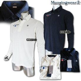 マンシングウェア(Munsingwear) 吸湿発熱 アーガイルポロシャツ