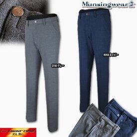 マンシングウェア(Munsingwear) Heat Navi 360°ストレッチメランジスウェードパンツ