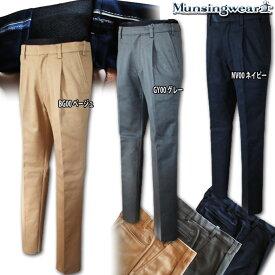 マンシングウェア(Munsingwear) ウエストフリー Heat Navi ストレッチパンツ