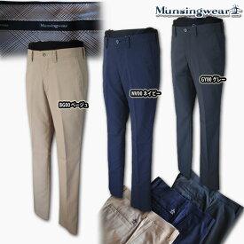 マンシングウェア(Munsingwear) sunscreen シャドーストライプstretchパンツ