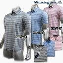 マンシングウェア(Munsingwear) PRESTIGE ブレーディングボーダーポロ