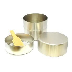 【茶道具/茶漉し】抹茶篩缶(抹茶ふるい缶)茶会用ステンレス製(特大)