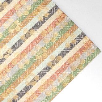 Combined weave silk damask form flower pattern