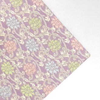 Pure silk fabrics two folds vine peony arabesque