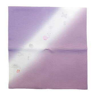 """2019 theme selected by the Emperor silk wrapper """"light"""" 紫苑北村徳斎帛紗店"""