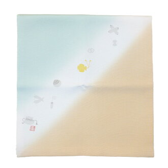"""2019 theme selected by the Emperor silk wrapper """"light"""" 淡水北村徳斎帛紗店"""