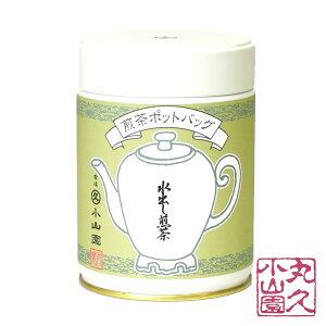 【丸久小山園/抹茶】【宇治茶】【ポットバッグ】濃口煎茶 水出し煎茶 M缶 8g x 16個【Japanese Green Tea】【お茶】【Marukyu Koyamaen】