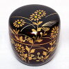 溜塗中棗小菊蒔絵 (aventurine lacquer) Shinonome product