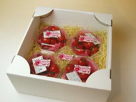 【特別栽培】トマトベリー(A級品)高糖度ミニトマトイチゴみたいなハートの形をした甘〜いプレミアムミニトマト♪プレゼントに☆150g×4P