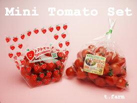 【送料無料】特別栽培・ミニトマトセット(トマトベリー&小鈴)お試しセット完熟ミニトマト2種類