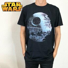 STAR WARS スター・ウォーズ Tシャツ メンズ ブラック デススター ダークサイド 映画Tシャツ