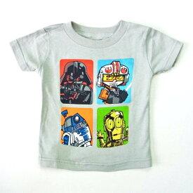 【映画Tシャツ★バンドTシャツ】【STAR WARS/スター・ウォーズ】子供服 キッズTシャツ ダース・ベーダー R2D2 Tシャツ【送料無料】【楽ギフ_包装】