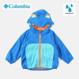 Columbia コロンビア 撥水 子供用 ハット UV対策 サイズ調整 キッターリビットジャケット