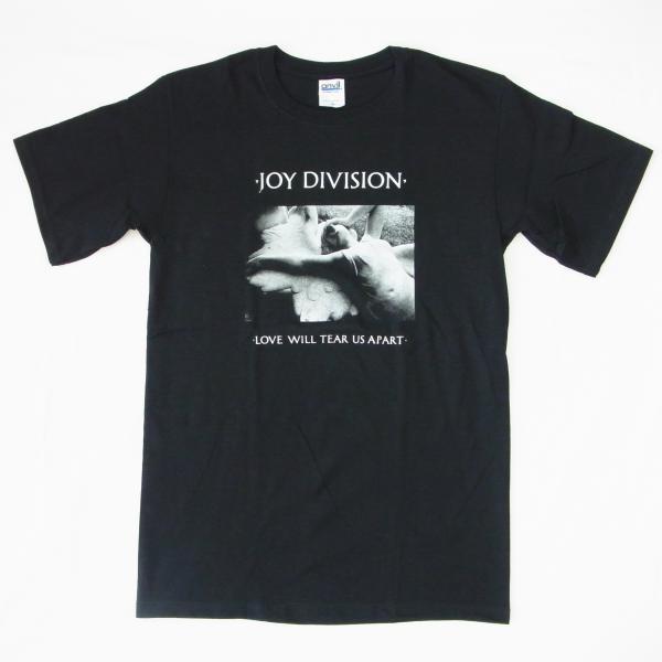 ロックTシャツ バンドTシャツ JOY DIVISION ジョイ・ディヴィジョン love will tear us apart 半袖Tシャツ UNKNOWN PLEASURES ロックT バンドt バンド tシャツ ブラック ROCK バンドT 正規品 送料無料