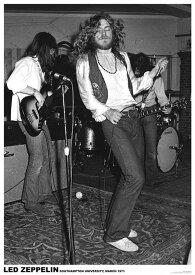 ロックポスター Led Zeppelin LIVE 1971 レッド・ツェッペリン サイケアート ポスター 61センチX91センチ