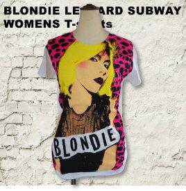 """【ロックTシャツ★バンドTシャツ】【BLONDIE】""""ブロンディ"""" subwayレディース Tシャツ"""