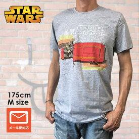 映画Tシャツ STAR WARS スター・ウォーズ Tシャツ フォースの覚醒 レイ メンズ グレー