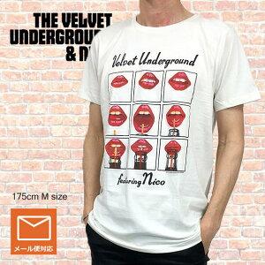 """ロックTシャツ バンドTシャツ Velvet Underground and Nico ヴェルヴェットアンダーグランド """"Featuring Nico"""" 70's ROCK Tシャツ メンズTシャツ Tシャツ"""