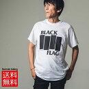 ロックTシャツバンドTシャツBLACKFLAGブラックフラッグロゴプリントTシャツ限定Tシャツ半袖TシャツクルーネックTシャツROCKメンズTシャツTシャツ