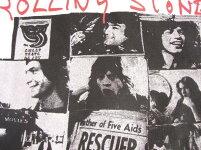 ロックTシャツバンドTシャツRollingStonesローリング・ストーンズEXILEONMAINSTフォトTシャツホワイトストーンズTシャツ