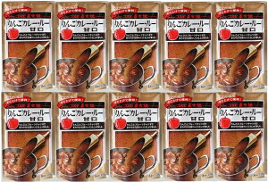 コスモ直火焼 りんごカレールー甘口 170g×10袋  【コスモ食品 フレーク】