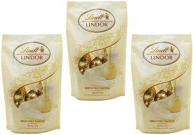 【宅配便送料無料】 リンツ(Lindt) リンドール ホワイトパック 60g×3袋   【個包装 六甲バター QBB スイス 高級チョコレート ホワイトチョコ】