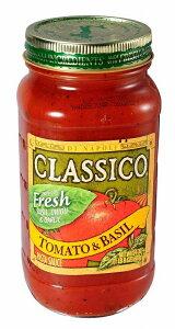 ハインツ クラシコ トマト&バジル 680g×12個    【HEINZ CLASSICO 調味料 パスタソース 業務用】