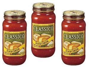 ハインツ クラシコ トマト&4チーズ 680g×3個    【HEINZ CLASSICO 調味料 パスタソース】