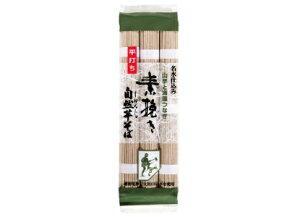 【メール便送料無料】 乾物屋の極上乾麺 自然芋素挽きそば 300g(100g×3束)×3袋
