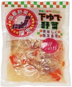 野菜の旨みを残した下ゆで野菜 豚汁の具 220g   【国産 国内産 国内加工 ゆでベジ 茹でベジタブル 中食】