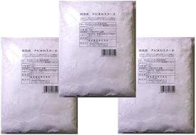 小麦ソムリエの底力 タピオカスターチ 1kg×3袋 【タピオカでん粉、澱粉】