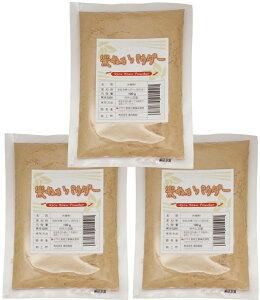 こなやの底力 食べる 米ぬかパウダー 100g×3袋  【国内製造 焙煎済 微細粉砕済 スーパーフード 低糖質 米糠】