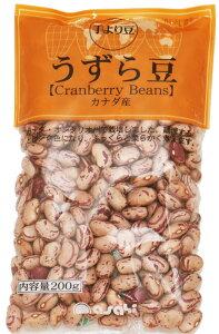 【メール便送料無料】 豆力 豆専門店のうずら豆(クランベリー豆) 200g