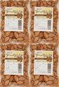 世界美食探究 殻付きローストアーモンド(塩) 1kg(250g×4袋)  【ノンオイル】