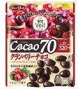 【宅配便送料無料】 グルメな栄養士セレクト洋菓子 カカオ70クランベリーチョコ 41g×10袋  【果実Veil 正栄デリ…
