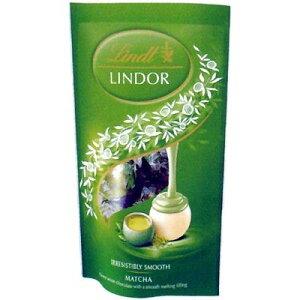 リンツ(Lindt) リンドール 抹茶パック 60g×12袋   【個包装 六甲バター QBB スイス 高級チョコレート トリュフチョコ】
