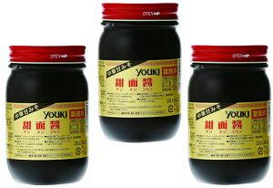ユウキ食品 調味料 甜面醤(中華甘みそ) 500g×3個 【YOUKI マコーミック 中華調味料 テンメンジャン 国内製造】