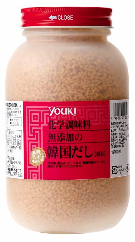 【見切り】ユウキ食品 化学調味料無添加の韓国だし 400g 【YOUKI 調味料 業務用 顆粒 牛肉ベース】