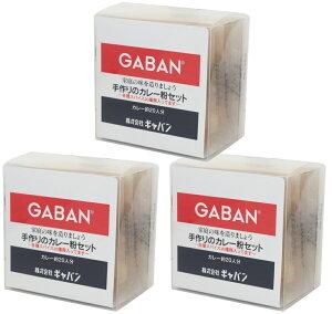 【宅配便送料無料】 GABAN 手作りカレー粉セット  100g×3袋   【スパイス ハウス食品 香辛料 粉 業務用 カレールー】