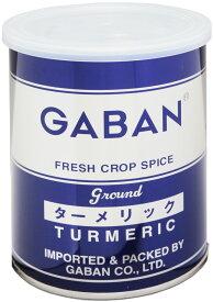 GABAN ターメリックパウダー(缶) 220g   【スパイス ハウス食品 香辛料 粉 業務用 Turmeric うこん】