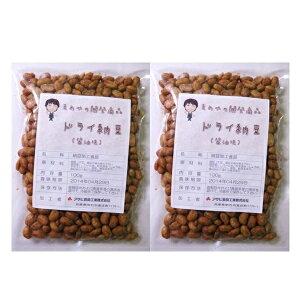 【メール便送料無料】 豆力 国内産 ドライ納豆(醤油味) 100g×2袋 ポッキリ!セット  【国産 干し納豆 乾燥納豆 おつまみ】
