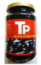 世界美食探究 スペイン産 ブラックオリーブ おつまみ 340g 【オリーブの実 黒】