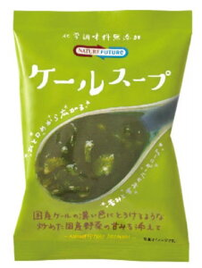 NATURE FUTURe インスタントスープ 即席スープ ケールスープ  10.0g    【コスモス食品 フリーズドライ 国産 国内産 化学調味料無添加 野菜スープ】