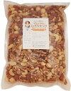 グルメな栄養士のプレミアム ミックスナッツ 薄塩オイルロースト 1kg 【アーモンド/カシューナッツ/クルミ/マカダミア】 nuts