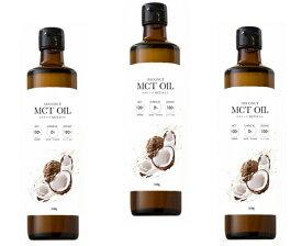 フラット・クラフト MCTオイル 360g×3本 【ココナッツ由来100% 中鎖脂肪酸 中鎖脂肪酸率100% 添加物不使用 フラットクラフト】