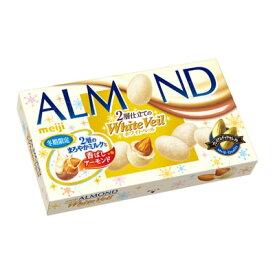 明治アーモンドチョコレート ホワイトベール10箱
