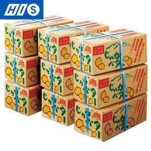 北海道のお土産 じゃがバター(小) 9箱セット(北海道 土産 お土産 みやげ おみやげ ギフト プレゼント 帰省土産 手土産 修学旅行 HIS 洋菓子 いも菓子 フィナンシェ 個包装 )