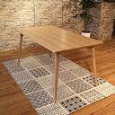 商品名 UNO ウノ 150ダイニングテーブルカラー アッシュ ナチュラルサイズ  幅 150cm 北欧テイスト ウレタン塗装
