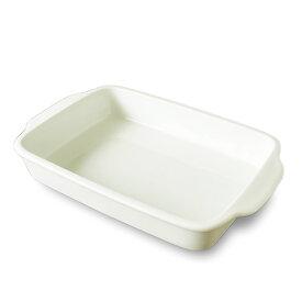 【2020年リニューアル】31cm 長角 グラタン皿 (持ち手有)(アウトレット含む) 日本製 磁器 白い食器 グラタン 皿 ラザニア 皿 特大 グラタン皿 大皿 ビュッフェ バーベキュー 揚げ物 皿 パーティー 業務用食器 バイキング
