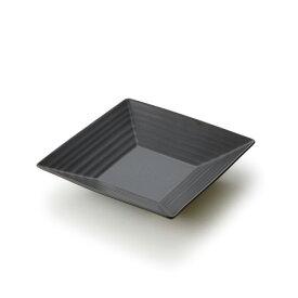 【新調合 黒マット】NN 16cmスクエアプレート(アウトレット含む)日本製 皿 おしゃれ 食器 おしゃれ 食器 アウトレット 日本製 磁器 角皿 取り皿 おしゃれ デザートプレート 業務用食器 食器 黒 プレート 皿 黒 食器 四角 皿